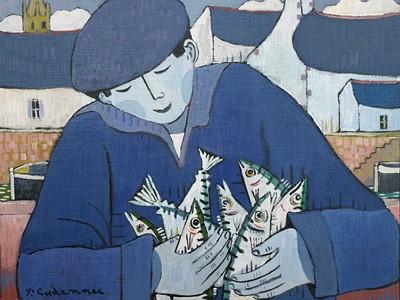 Portrait de Pêcheur Bleu .