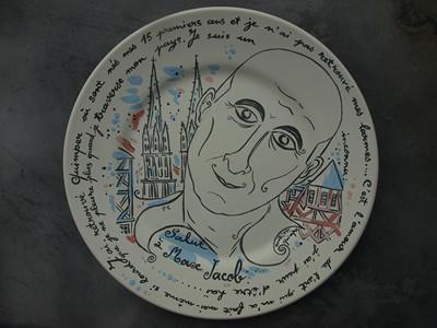 Portrait de Max Jacob .