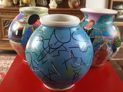 Les trois vases .