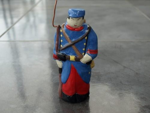 Le soldat poilu de 1914.