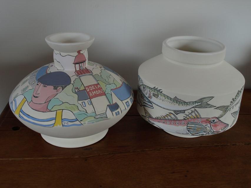 Nouveaux vases.
